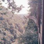 Beautiful view from Okatse Canyon's path in Georgia