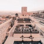 Above Rabati Castle in Georgia