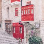 Beautiful gallery on the streets of Valletta, Malta, More on www.atasteoffun.com