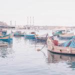 Harbor in Marsaxlokk, Malta. More about fishermen village on www.atasteoffun.com