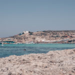 Beautiful Blue Lagoon from Comino Island, Malta.  Find more about our travel to Malta during one week on www.atasteoffun.com