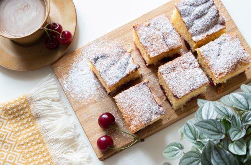 Cherry fruity cake recipe